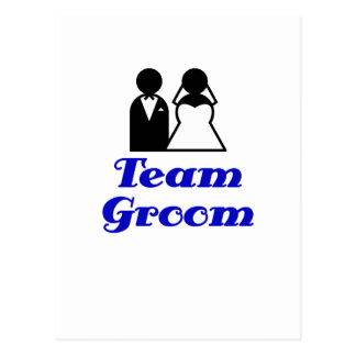 Team Groom Postcard