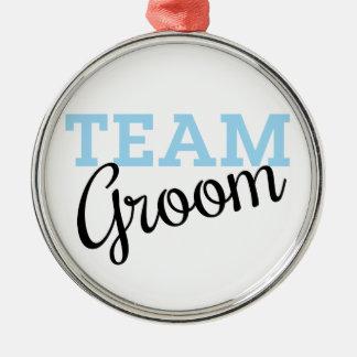 Team Groom Script Christmas Tree Ornaments