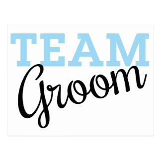 Team Groom Script Postcard