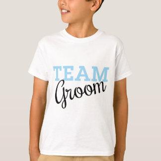 Team Groom Script T-shirts