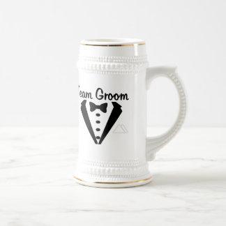 Team Groom Stein Beer Steins
