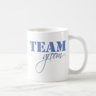 Team Groom theme Basic White Mug
