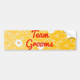 Team Grooms Bumper Stickers