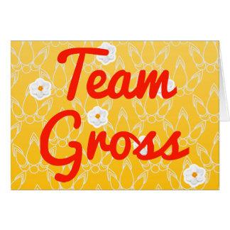 Team Gross Greeting Cards