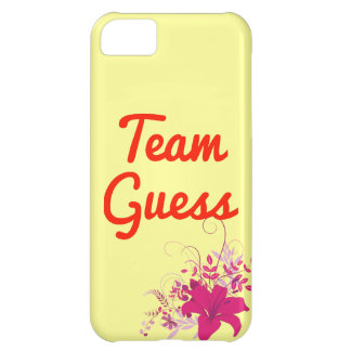 Team Guess Cover For iPhone 5C