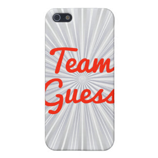 Team Guess Cases For iPhone 5