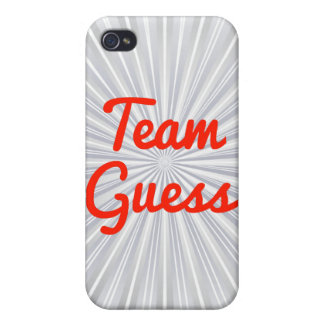 Team Guess Case For iPhone 4