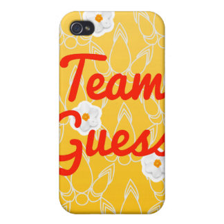 Team Guess Covers For iPhone 4