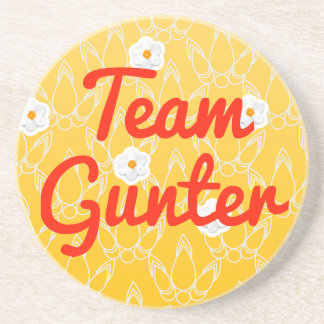 Team Gunter Beverage Coasters