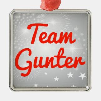 Team Gunter Christmas Tree Ornament