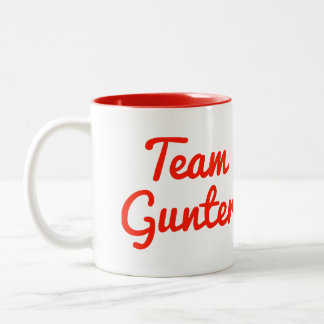 Team Gunter Coffee Mug