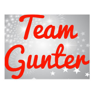Team Gunter Postcard