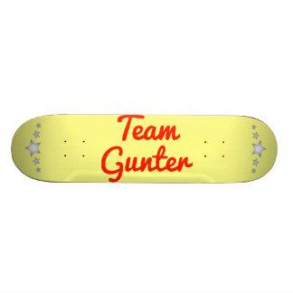 Team Gunter Skate Board