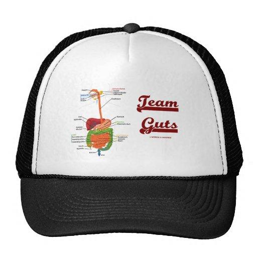 Team Guts (Digestive System Anatomical Humor) Mesh Hats