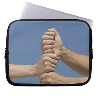 Team Hands on Bat Laptop Sleeve