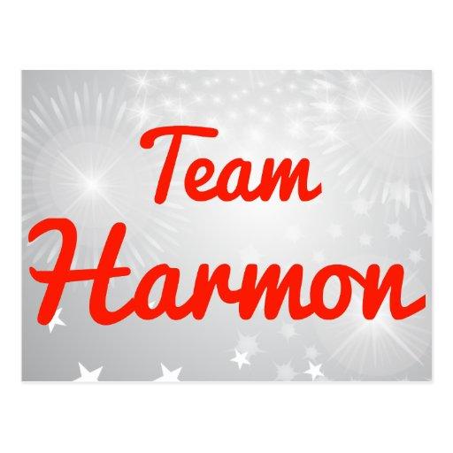 Team Harmon Post Cards