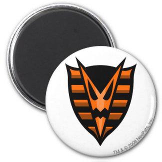 Team Haunted Woods Logo 6 Cm Round Magnet