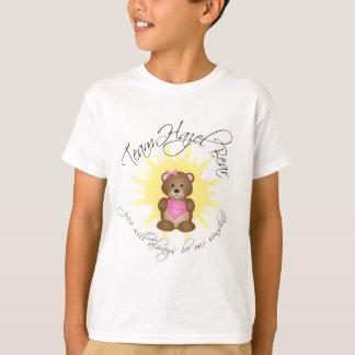 team hazel bear kid's t-shirt (white)