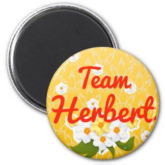 Team Herbert Refrigerator Magnet