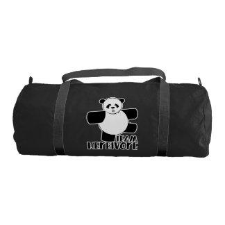 Team herbivore gym duffel bag