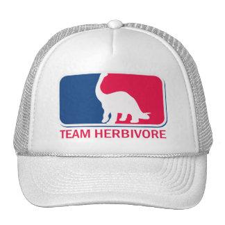 Team Herbivore Vegetarian Vegan Hat