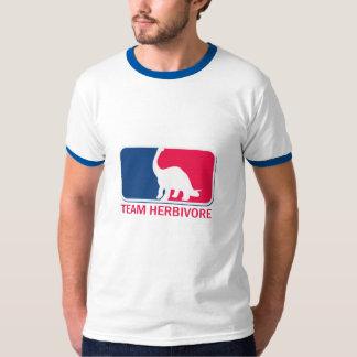 Team Herbivore Vegetarian Vegan Tshirt