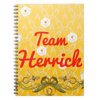 Team Herrick Note Book