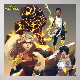Team High Voltage Poster