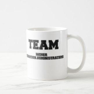 Team Higher Education Administrators Coffee Mugs