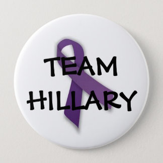 Team Hillary 10 Cm Round Badge