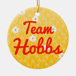 Team Hobbs Christmas Ornament