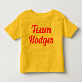 Team Hodges Shirts