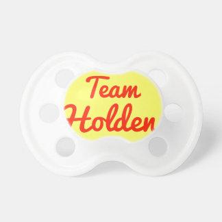 Team Holden Baby Pacifiers