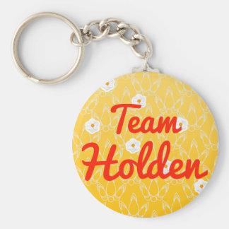 Team Holden Basic Round Button Key Ring