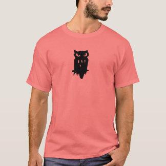 Team Hoot Loan owl Black T-Shirt