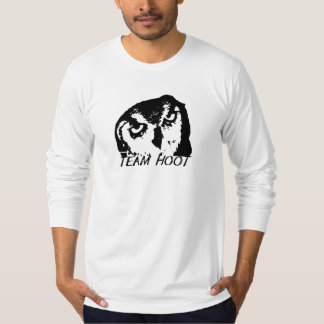 Team Hoot Original White T-Shirt