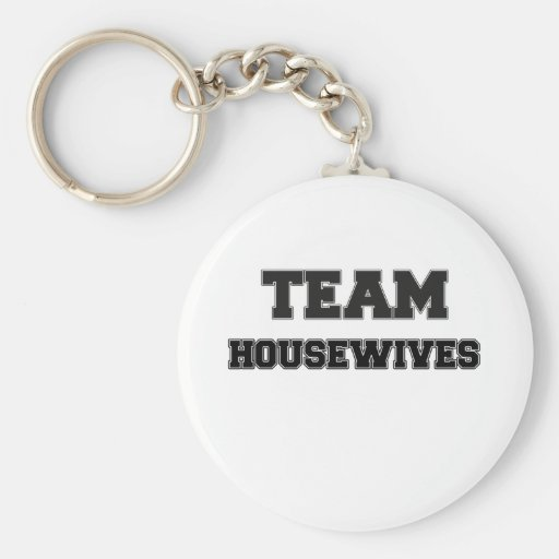 Team Housewives Keychain