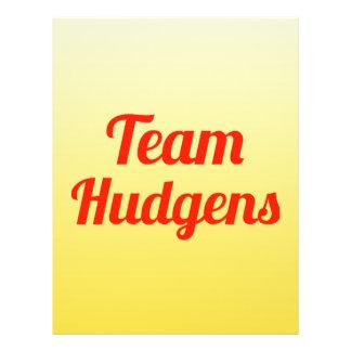 Team Hudgens Flyer Design
