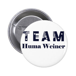 TEAM Huma Weiner 6 Cm Round Badge