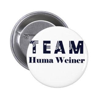 TEAM Huma Weiner Buttons