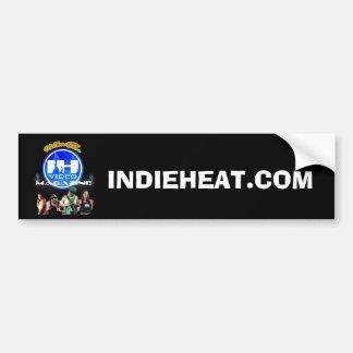 Team Indie Heat Logo Bumper Sticker