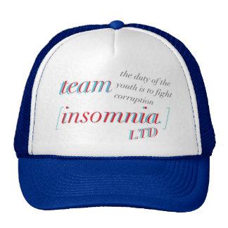 Team Insomnia 3D Snapback Cap