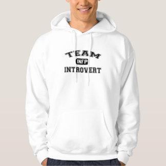Team Introvert: INFP Hooded Sweatshirt