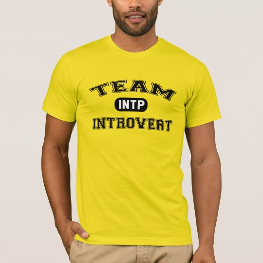Team Introvert: INTP T-Shirt