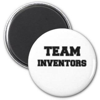 Team Inventors Refrigerator Magnets