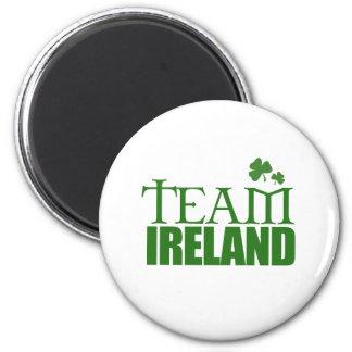 Team Ireland 6 Cm Round Magnet