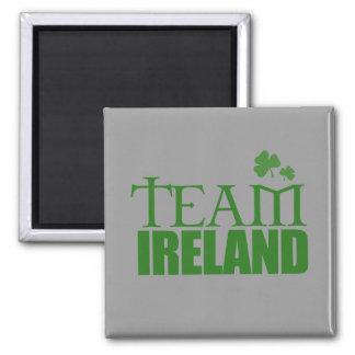 Team Ireland Square Magnet