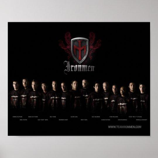 Team Ironmen Poster
