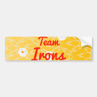 Team Irons Bumper Stickers