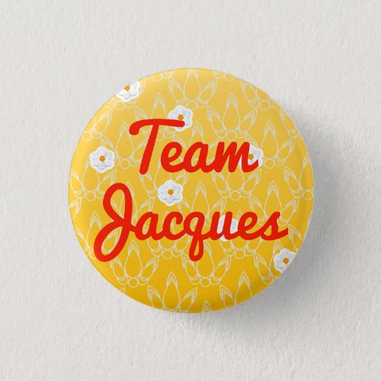 Team Jacques 3 Cm Round Badge